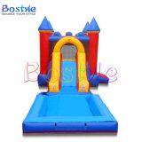 Bouncer gonfiabile del giocattolo del castello rimbalzante gonfiabile di natale con la trasparenza