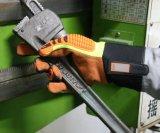 Flame Resistant Anti-Puncture mécanique de la sécurité en cuir des gants de travail avec le TPR