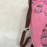 Custom напечатано полиэстер водонепроницаемый рюкзак специальный мешочек