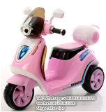 Giro del bambino dei giocattoli del motociclo della batteria elettrica sull'automobile