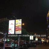 Painel Solar Piscina Street Pilar LED Banner em alumínio de Mídia de Publicidade Caixa de Luz