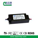 En el exterior el controlador LED 30W 45V resistente al agua IP65