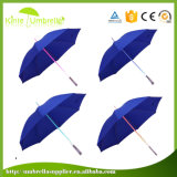 Fulgor relativo à promoção novo do presente no guarda-chuva leve do diodo emissor de luz do punho escuro do diodo emissor de luz do guarda-chuva