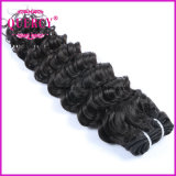 Weave profundo de venda quente do cabelo da paixão da onda da luz sintética da extensão do cabelo humano das extensões do cabelo Kinky do Afro/extensão de trama