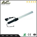 도로 안전을%s 조정가능한 LED 안전 신호 지팡이 소통량 배턴