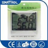 Grande higrómetro relativo à promoção Jw-90 do termômetro de Digitas do indicador do LCD