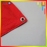 Drapeaux s'arrêtants décoratifs d'indicateur de toile de tissu de double impression latérale
