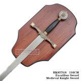 Spade medioevali HK857GS 116cm di Sworddecoration del cavaliere delle spade della spada di Excalibur
