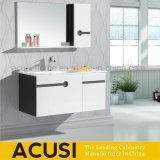 An der Wand befestigter Lack-moderner Badezimmer-Eitelkeits-Schrank mit Regal (ACS1-L29)