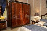 Het Donkere Ontwerp Europese Klassieke Royal&#160 van Kleur 0068; Stijl 4 de Garderobe van de Deur