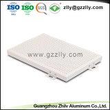El panel de aluminio de la pared del revestimiento de la fábrica ISO9001 para la decoración externa de la pared