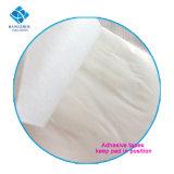 Espessura Maxi Dia mulheres absorventes higiênicos menstruais com querubins de gel
