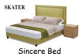 Sk07 미국식 침실 직물 침대