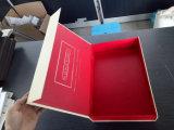 Коробка Recyclable складной крышки серая бумажная косметическая упаковывая с логосом штемпелевать золота изготовленный на заказ