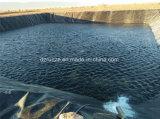 De alta densidad de 1,5 mm de espesor 2,0 mm Polyetheleene Geomembrana Pond Liner vertedero Geomembrana HDPE