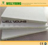 Panneau de plancher de MgO du bord 20mm de superposition pour les Chambres préfabriquées de dôme