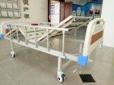 Trois de la manivelle manuel de l'équipement médical lit d'hôpital