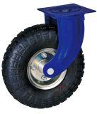Industrielle Hochleistungsfußrolle mit Luft-Reifen-Rad