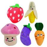 Cuscini farciti Plushed di figura della frutta e della verdura per il giocattolo dei capretti