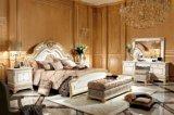 0062-1 het Europese Klassieke Bed van de Grootte van de Koning voor de Reeks van het Meubilair van de Slaapkamer