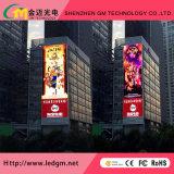 Высокая яркость P16 реклама светодиодный дисплей экран с видео на стену