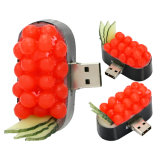 Memória coreana do USB da movimentação do flash do USB do sushi de Pendrive do Hamburger