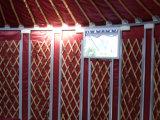 Barraca Mongolian ao ar livre do evento da barraca de Yurt da alta qualidade quente da venda