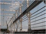큰 경간 Prefabricated 가벼운 강철 구조물 작업장