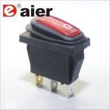2 interruttore di attuatore elettrico rosso di Spst 12V LED di modo