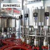 La infusión de jugo de botella de PE de la máquina de sellado con lámina de aluminio