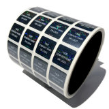 Papel de alta calidad personalizado/PVC/vinilo/Plástico/Holograma etiquetas adhesivas de impresión