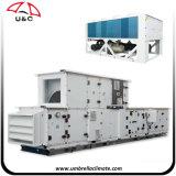 La presión estática, el sistema HVAC en agua fría del controlador de aire, las unidades de manejo de aire fresco