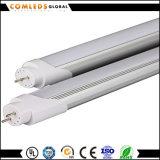 tubo del 1.2m 18W Plastic+Aluminum 90lm/W T8 LED