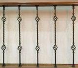 屋内のための錬鉄の木の螺旋階段