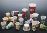 Tapa plástica semiautomática que forma la máquina para el material del animal doméstico
