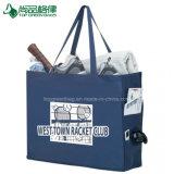 Kundenspezifische mehrfachverwendbare umweltfreundliche große EinkaufenTotes mit seitlichen Taschen