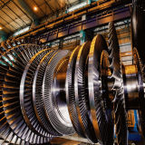 De Bladen van de Turbine van de compressor & van de Stoom