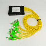 FC/APCのコネクターが付いているFTTH 1* 8のABSボックスタイプシングルモードファイバーの光学ディバイダー