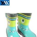 2018 солнечный популярных детей из натурального каучука Rainboots Аллигатор Wellingtons новый дизайн Wellies обувь для детей обувь
