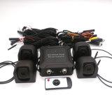 HD960p 3D sistema de la opinión del pájaro de la cámara de 360 grados para el omnibus con la grabación y la visión nocturna