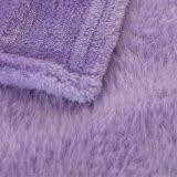 가정 수집 온난한 연약한 폴리에스테 Flannel 양털 담요 중국