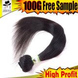 Extensões do cabelo de 40 polegadas, Hairdos longos do cabelo, cabelo longo India