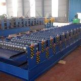 Ondulados 836 y 836 máquina de formación de rodillo doble capa trapezoidal