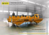 Coche de transferencia material del transporte pesado de 30 toneladas en el carro