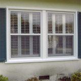 粉は影響ガラスとアルミニウム傾きの回転Windowsに塗った