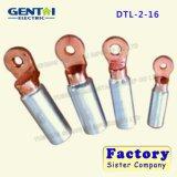 Tipo cobre de Dtl & terminais de conexão do alumínio