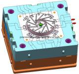 La estructura de 3 placas a presión el molde de la fundición para el disipador de calor