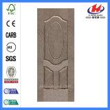 形成されたベニヤHDF/MDFのカシのドアの皮(JHK-003)