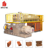 Máquina de moldagem de tijolos de extrusora a vácuo