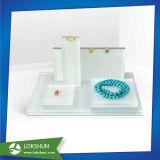 明確なアクリルの宝石類の表示、宝石類の表示セット